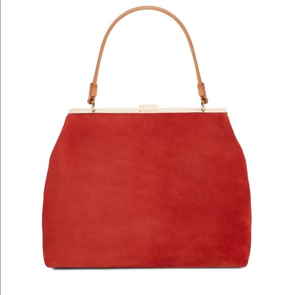 40d6644f65 Mansur Gavriel Bags | Brick Suede Soft Elegant Bag New | Poshmark